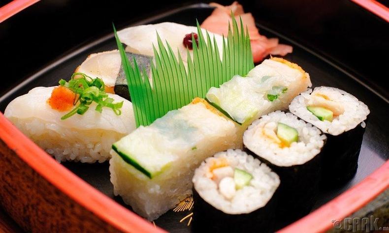 Японы Фугу (Fugu) загас