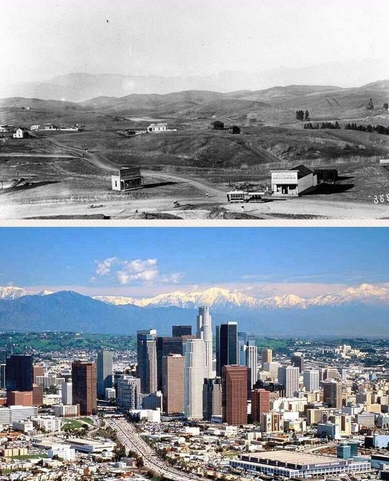 Лос Анжелес - 1901 ба 2001 онд