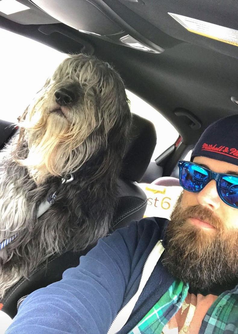 """""""Миний нохойг Бэн гэдэг. Насанд хүрсэн эрэгтэй хүн шиг том биетэй Бэн маань түгжрэл дунд надад ямар их хань болдог гээч."""""""