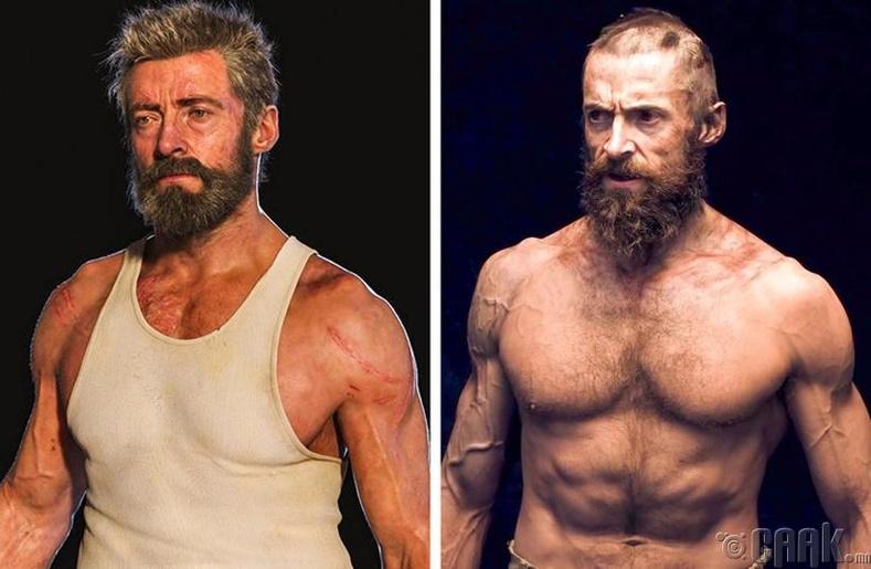 """""""Logan"""" болон """"Les Miserables"""" кинонд тоглохдоо Хью Жэкмен биеэ хуурайшсан харагдуулахын тулд 36 цагийн турш ус уугаагүй аж"""