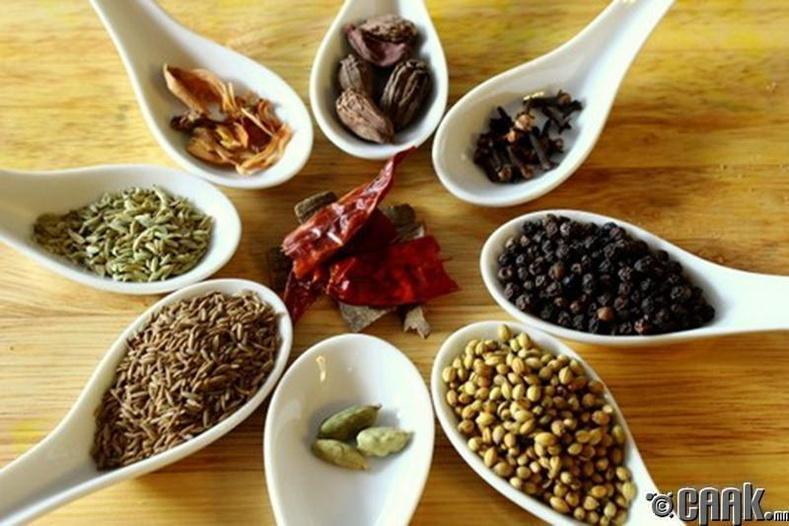 Төрөл бүрийн перецийг хоолонд зөв хэрэглэцгээе