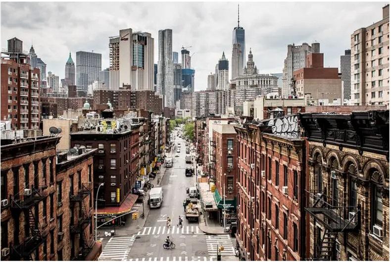Шинэ болон хуучин Манхэттен