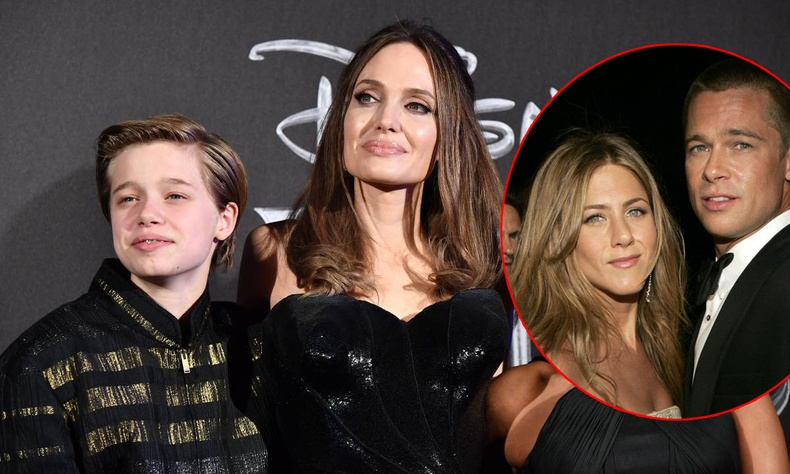 """Анжелина Жолигийн охин Женнифер Анистонтай """"найзалж"""", ээжийнхээ дургүйцлийг төрүүлжээ"""