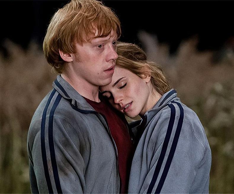 Рон ба Хермони (Harry Potter and the Deathly Hallows, 2010)