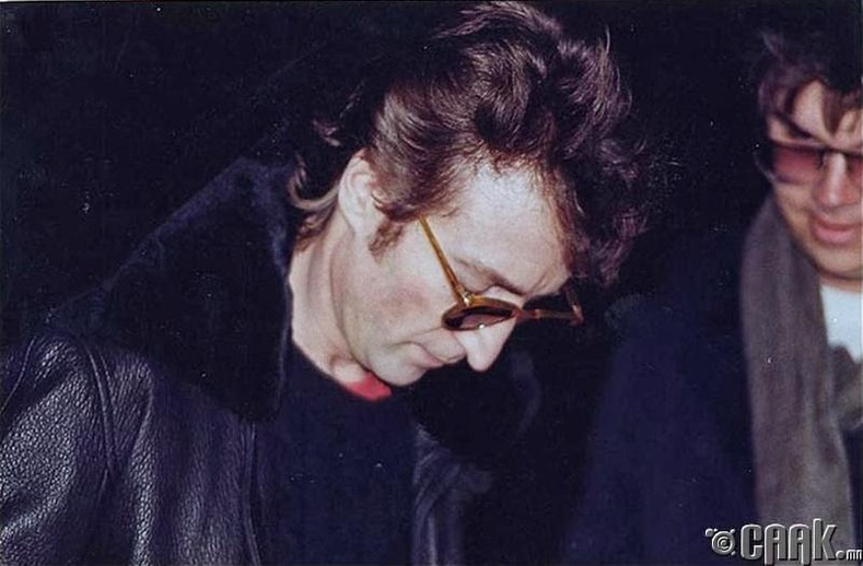 Жон Ленноны сүүлчийн зураг