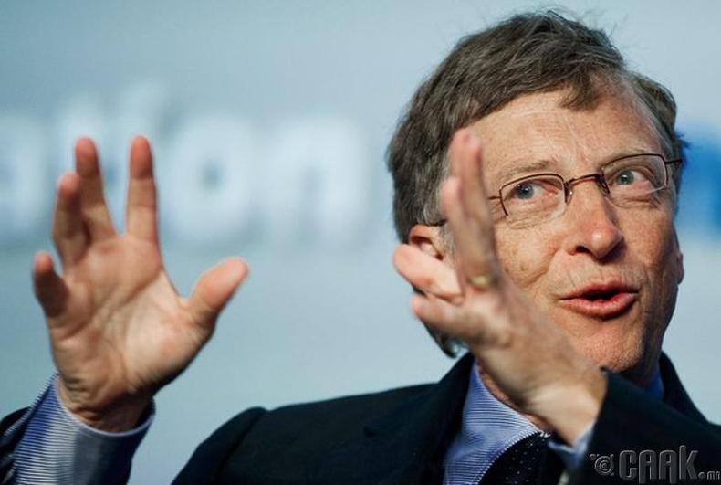 """Билл Гейтс (Bill Gates), """"Microsoft""""-ыг үндэслэгч"""
