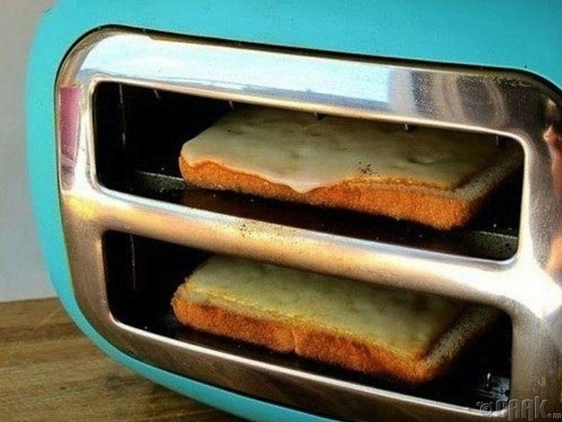 Талх шарагчаар хачиртай талх хийж болно