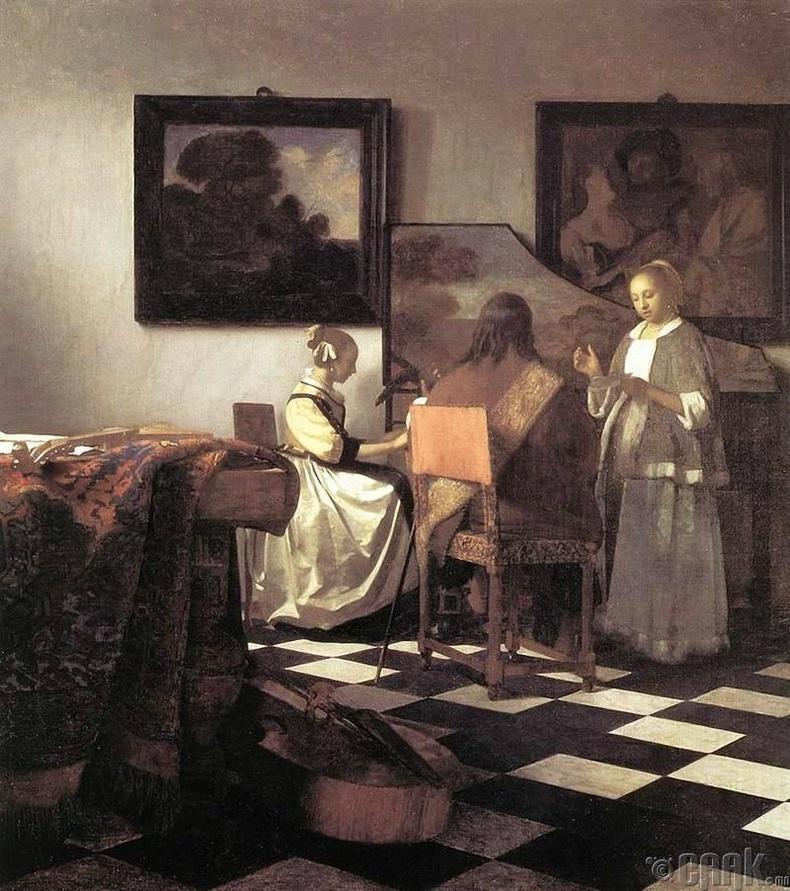 Бостон дахь Изабелла Стюарт Гарднерийн музейгээс алга болсон урлагийн бүтээл
