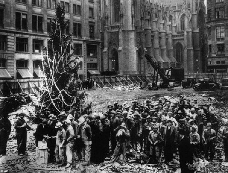 Анхны Рокфеллер төвийн зул сарын мод - 1931