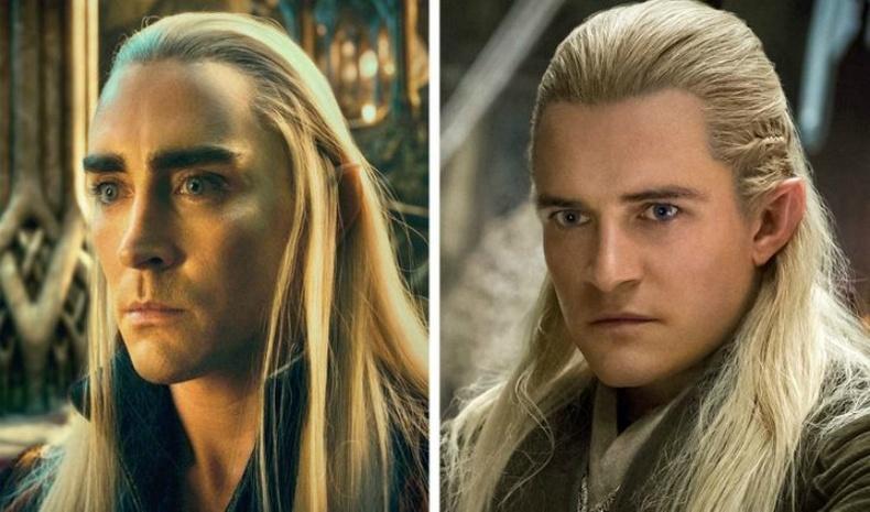 Ли Пейс болон Орландо Блүүм («The Hobbit», 2012–2014)