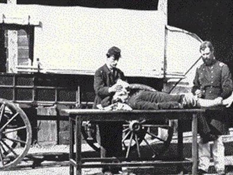 Америкийн цэргүүд - Өвчин намдаагч