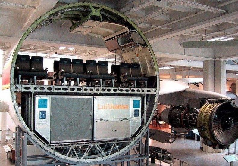 Зорчигч тээврийн онгоцны дотоод бүтэц
