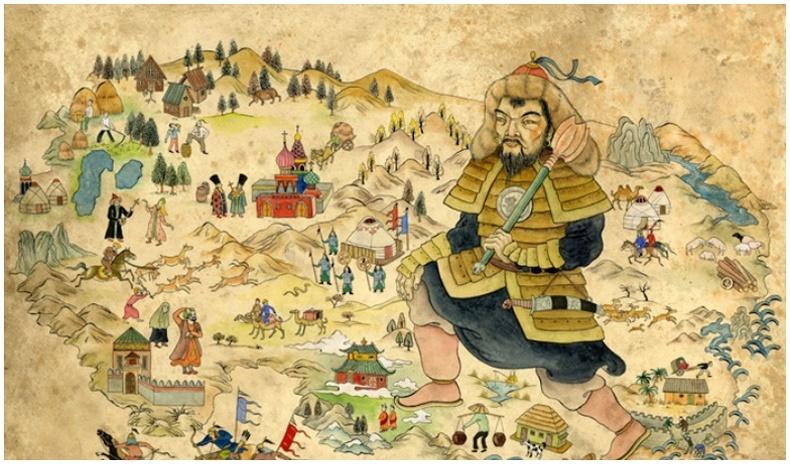 Орос болон Азийн зарим орнуудын хэлэн дэх Монголоос зээлсэн үгс