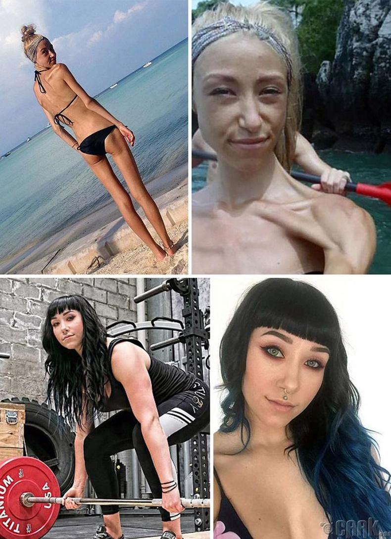 Софи Гайник анорекстай байх үеийнхээс 4 дахин хүндийг өргөж чадна
