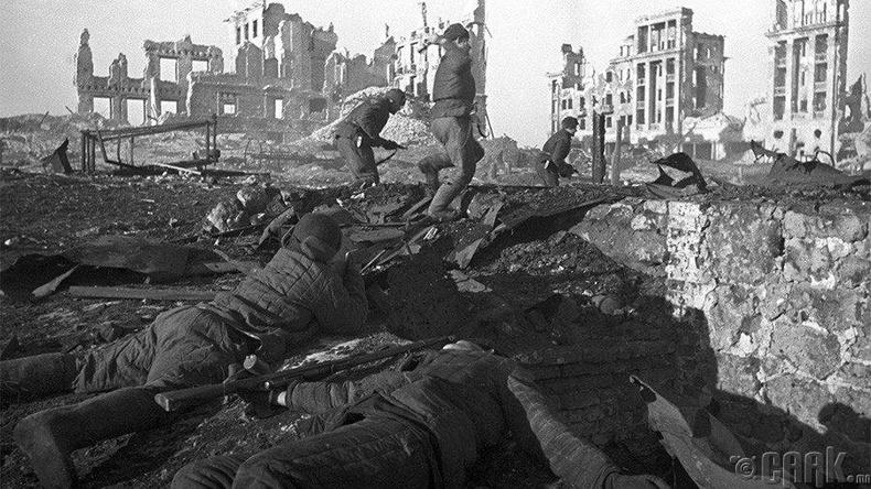 Сталинград, 1942-1943 он (1.25 сая хүн амиа алдсан)
