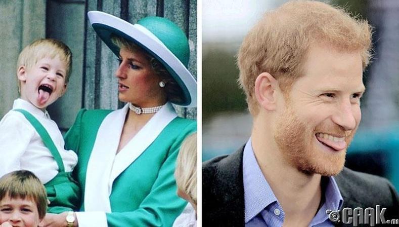 Ханхүү Харри (Prince Harry): Хэлээ гаргах