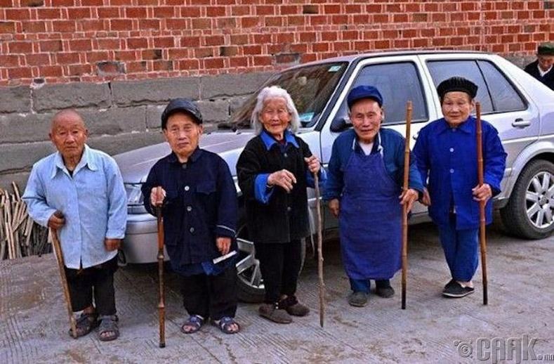 Одойчуудын хот - Яньши, Хятад