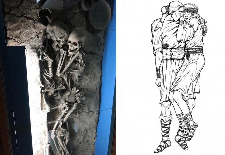 Украины нутгаас олдсон эртний скиф хосын булш