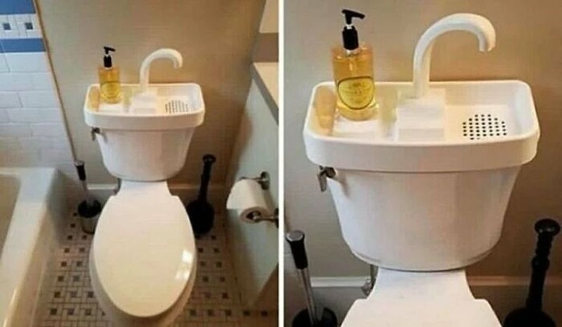 Японы ихэнх суултуурт гар угаах угаалтуур шийдэж өгсөн байдаг аж. Ингэснээр ус дэмий урсахаас сэргийлдэг бөгөөд жилд хэдэн мянган литр ус хэмнэдэг байна.