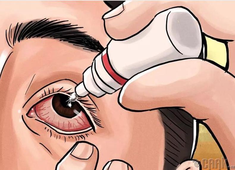 Нүдний дусаалгыг зайнаас дусаах