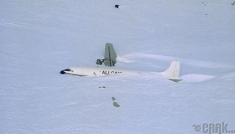 Мөсөн нисэх онгоцны буудал, Антарктид