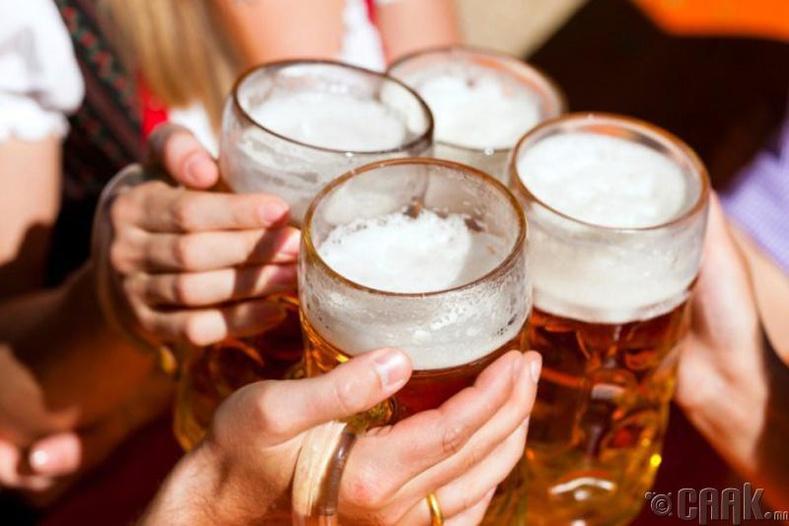 Согтууруулах ундаа огт уухгүй байх