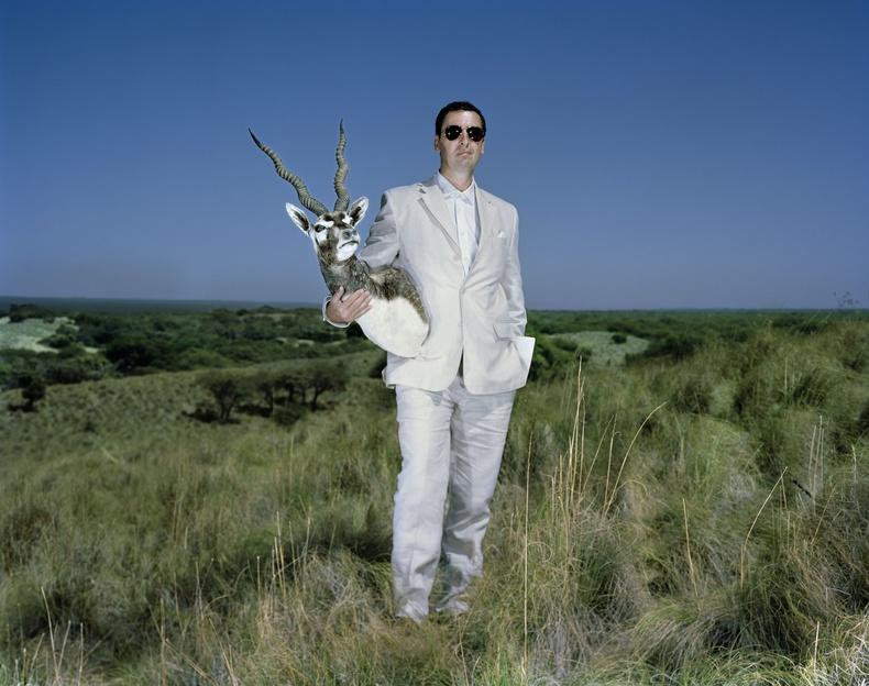 Луис ба түүний агнасан ороонго гөрөөс. Аргентин, 2014