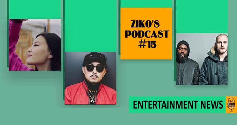 Ziko's podcast #15 - Entertainment News!