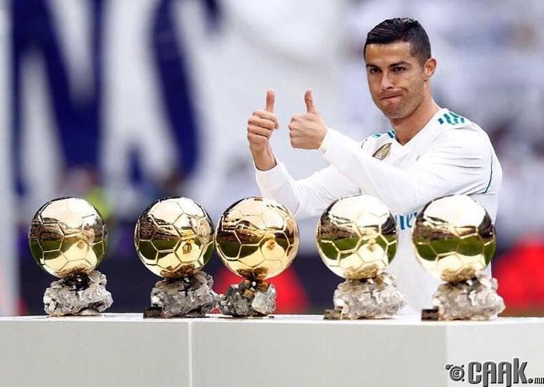 Кристиано Рональдо (Cristiano Ronaldo): Эрхий хуруугаа өргөх