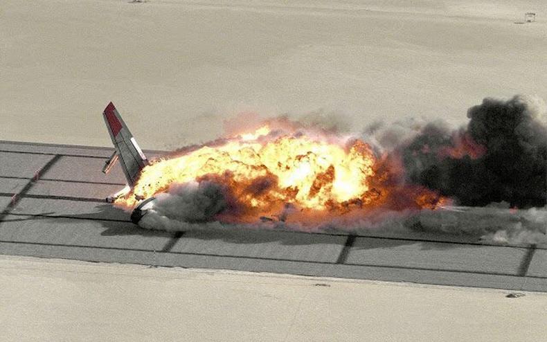 """НАСА-ийнхан """"Боинг"""" онгоцыг дэлбэлж туршилт хийсэн нь..."""