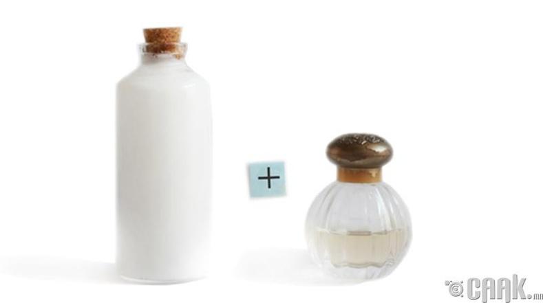 Үнэртэй ус + биеийн тос