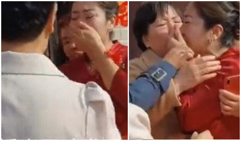 Хятад бүсгүй хуримынхаа үеэр хадам ээж нь түүний төрсөн ээж болохыг мэджээ