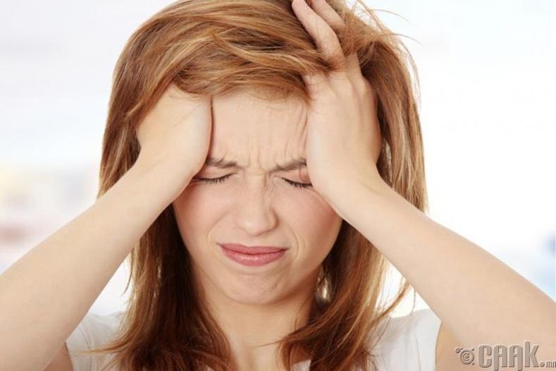 Толгойн өвчний үед