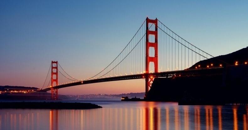 """""""Алтан хаалга"""" гүүр, Сан Франциско хот"""