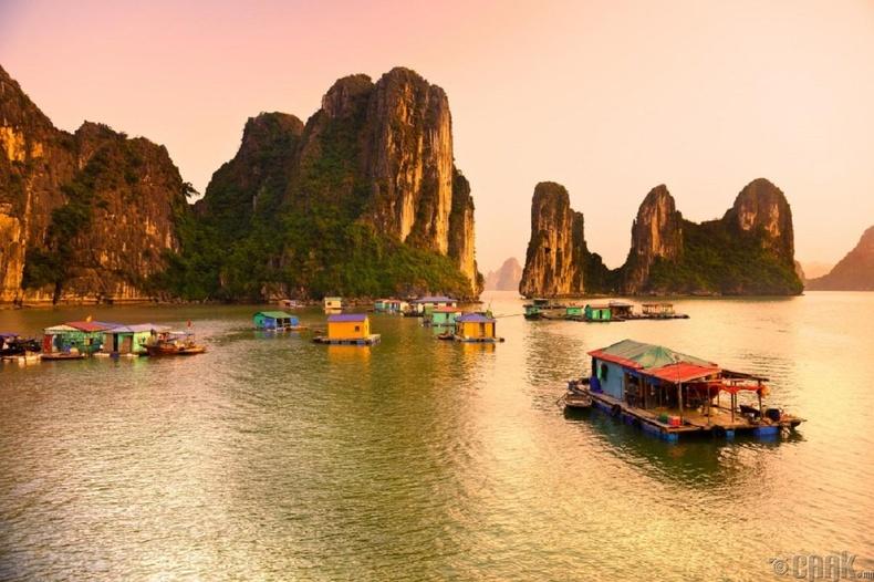 Загасчны тосгон Куа Ван, Вьетнам