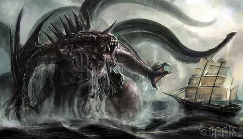 Тэнгисийн мангас буюу Кракен (Kraken)