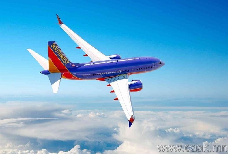 Southwest Airlines-ын эсрэг Анжелика Келлер
