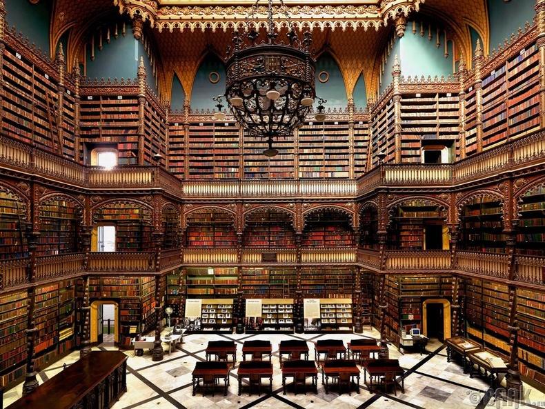 Португалийн хааны номын сан, Рио-де-Жанейро, Бразил