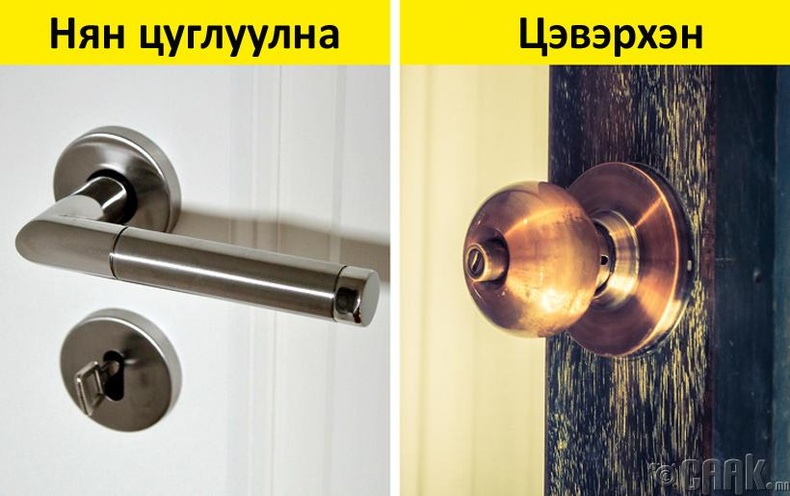 Хаалганы бариулыг яагаад гуулиар хийдэг вэ?