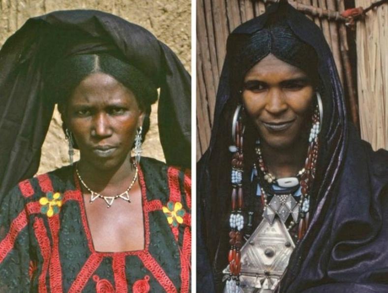 Туареги (Tuareg ) бүсгүйчүүд