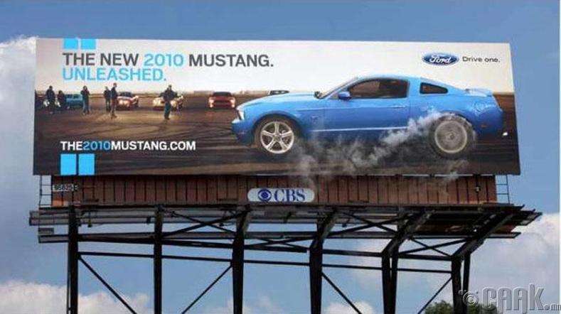 """""""Ford Mustang""""-ийн самбар жинхэнэ утаа гаргаж байна"""