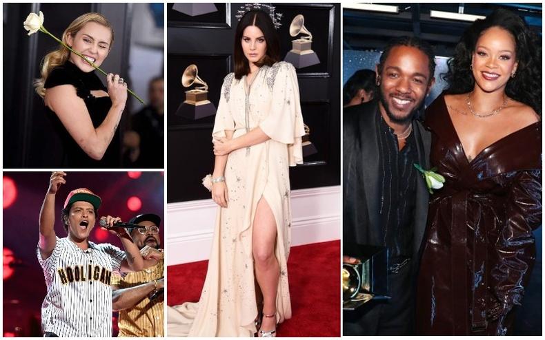 """""""Grammy Awards - 2018"""" сүр дуулиантай болж өнгөрлөө"""