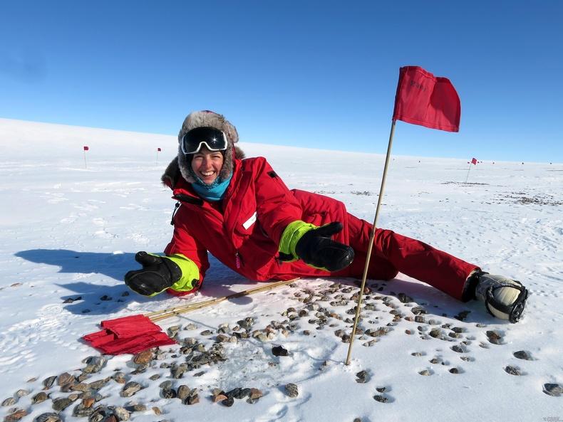 Антарктид солирын эх орон