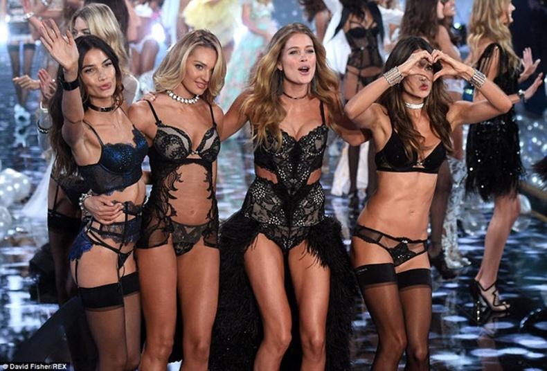 """Victoria's Secret Fashion Show 2014""-ийн торгон агшнууд"