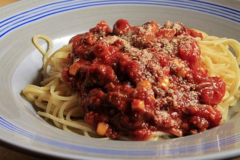 Болоньезе шпагетти