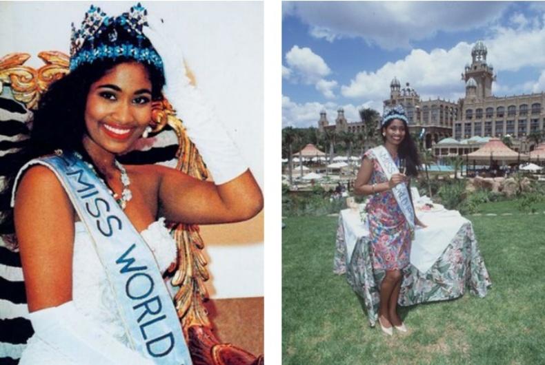 Лиза Ханна — «Дэлхийн Мисс» 1993 он