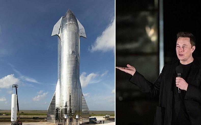 """Илон Маскийн """"Ангарагийг эзлэх"""" хөлөг"""