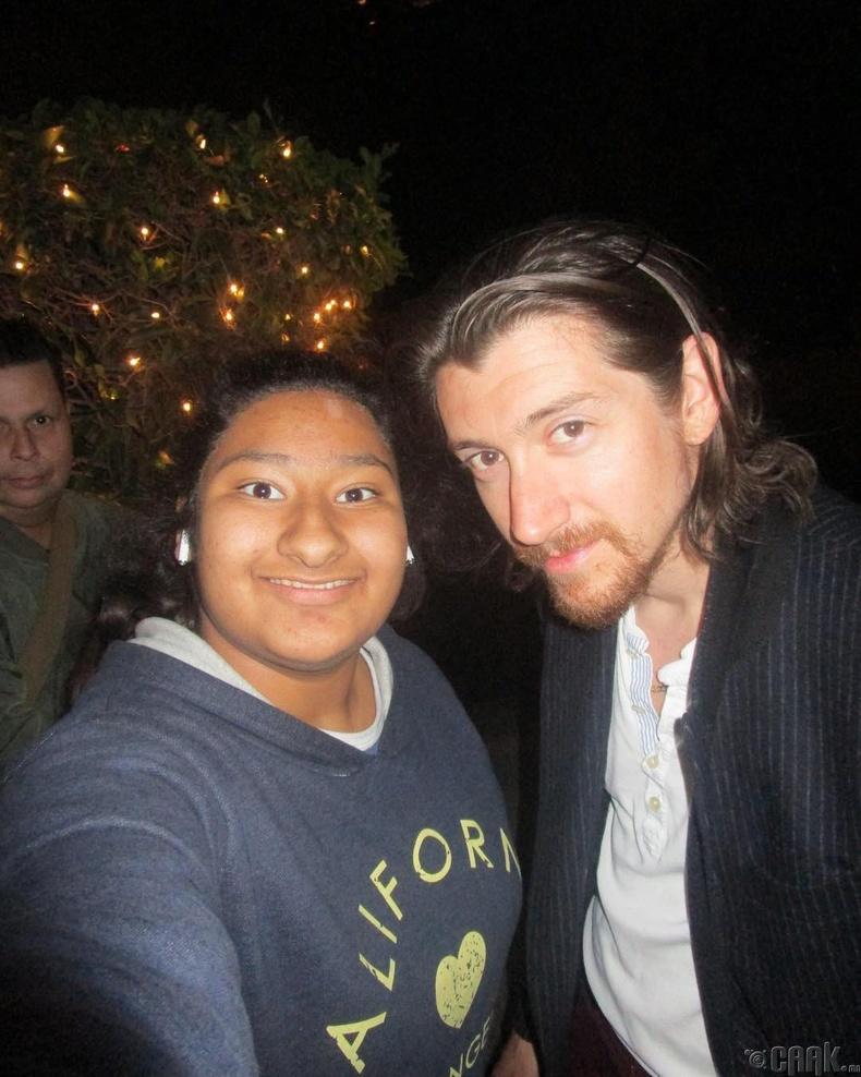 """""""Arctic Monkeys"""" хамтлагийн дуучин Алекс Тёрнер"""