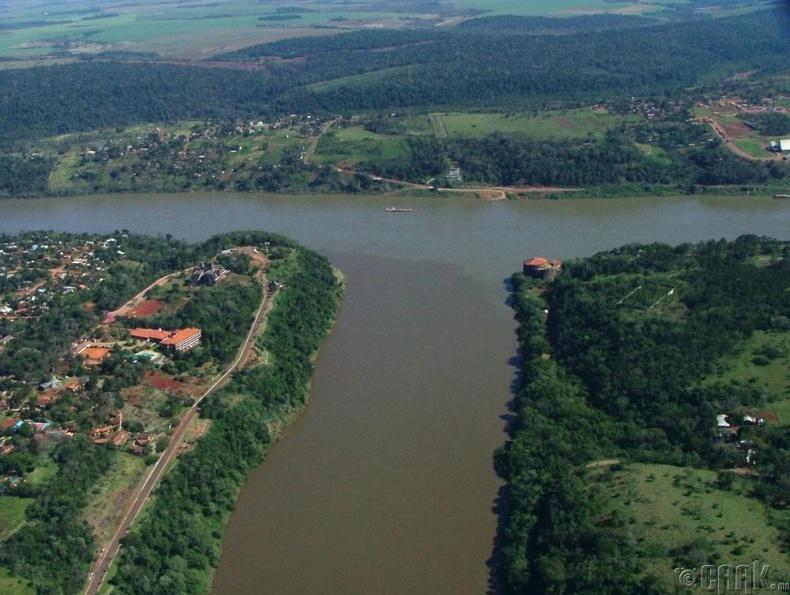 Аргентин, Бразил, Парагвай улсын хил