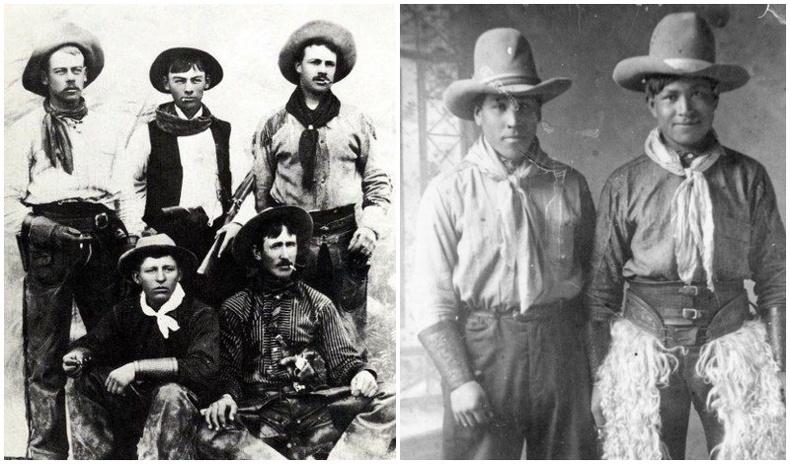 """""""Зэрлэг Өрнөд""""-ийн жинхэнэ ковбой нарын дүр төрх 19-р зуунд..."""